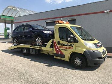 Autószállítás Horvátországból