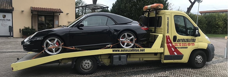 Autószállítás Olaszország területéről